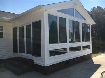 Sunrooms five star windows remodeling llc for Five star windows